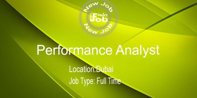 Performance Analyst