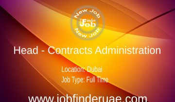 Head - Contracts Administration