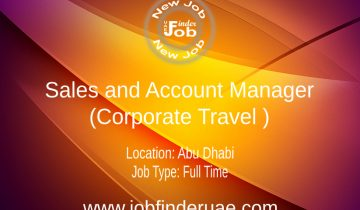 Sales and Account Manager