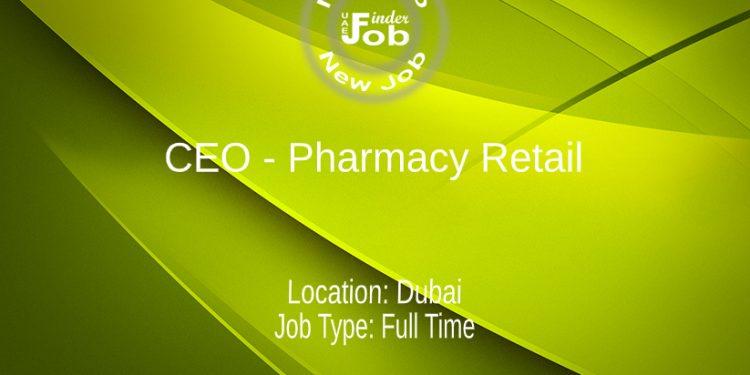 CEO - Pharmacy Retail