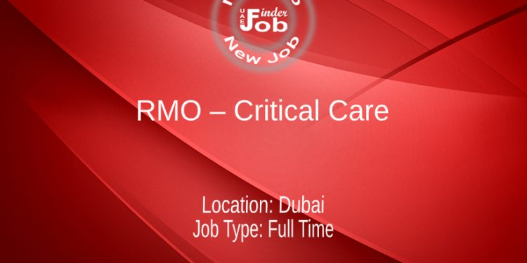 RMO – Critical Care