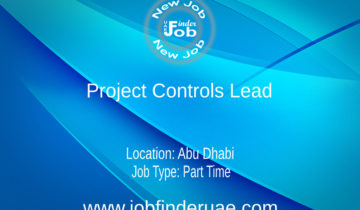 Project Controls Lead