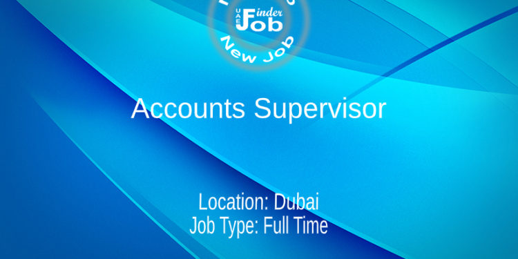 Accounts Supervisor