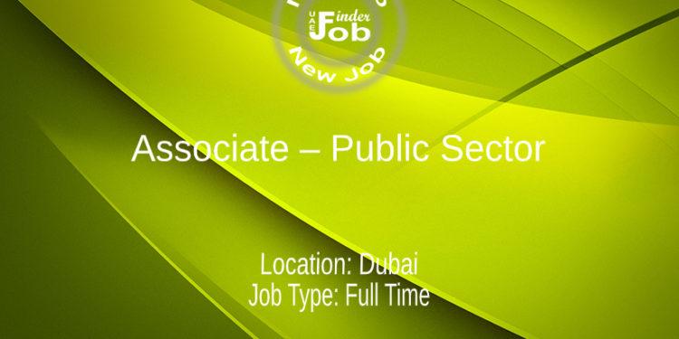 Associate – Public Sector