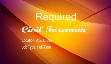 Civil Foreman