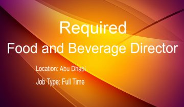 Food and Beverage Director