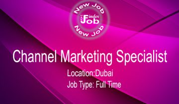 Channel Marketing Specialist