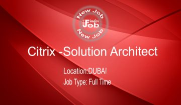 Citrix -Solution Architect