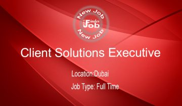 Client Solutions Executive