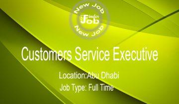 Customers Service Executive