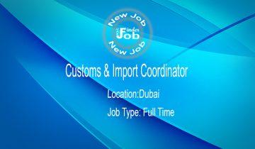 Customs & Import Coordinator