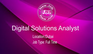 Digital Solutions Analyst