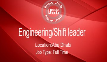 Engineering Shift leader