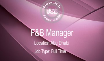 F&B Manager