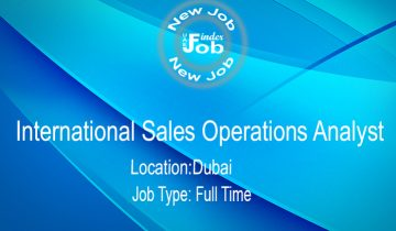 International Sales Operations AnalystInternational Sales Operations Analyst