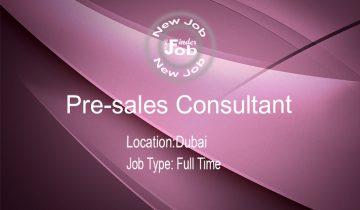 Pre-sales Consultant