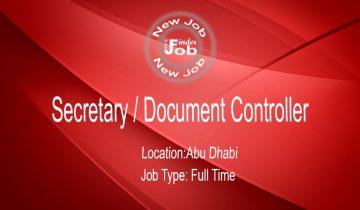 Secretary / Document Controller