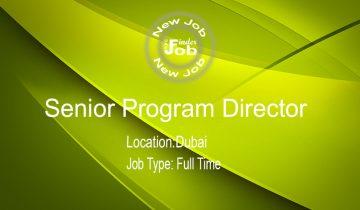 Senior Program Director