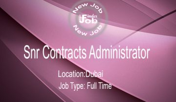 Snr Contracts Administrator