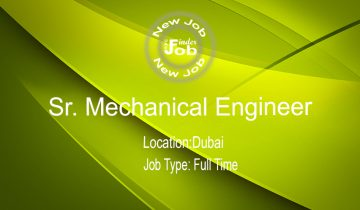 Sr. Mechanical Engineer