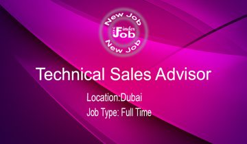 Technical Sales Advisor