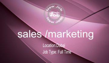 sales /marketing