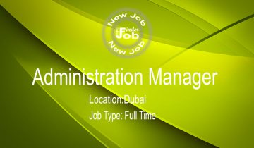 Administration Manager