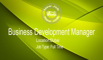 Business Development Manager
