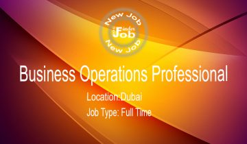 Business Operations Professional