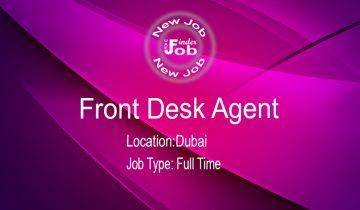 Front Desk Agent