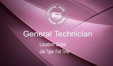 General TechnGeneral Technicianician