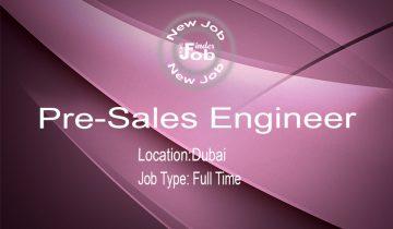 Pre-Sales Engineer