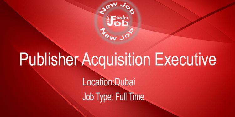 Publisher Acquisition Executive