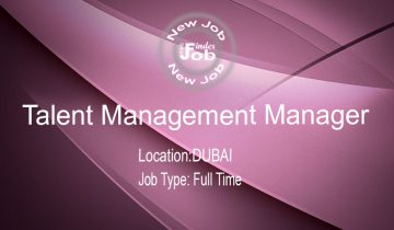 Talent Management Manager