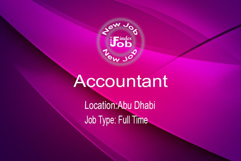 Accountant - Job Finder UAE - Get Your Dream Job