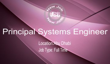 Principal Systems Engineer
