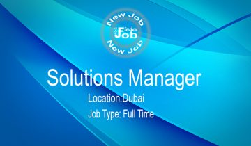 Solutions Manager