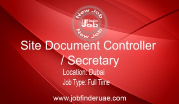 Site Document Controller-Secretary