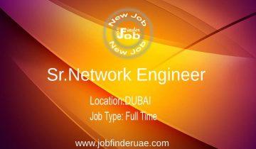 Sr.Network Engineer