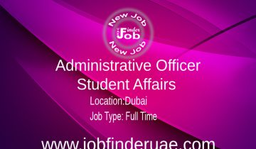 Administrative Officer - Student Affairs