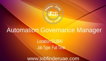 Automation Governance Manager