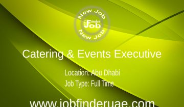 Catering & Events Executive