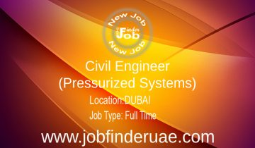 Civil Engineer (Pressurized Systems)