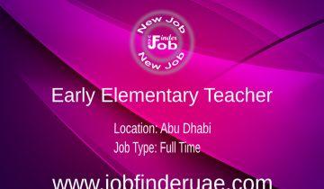 Early Elementary Teacher