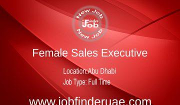 Female Sales Executive