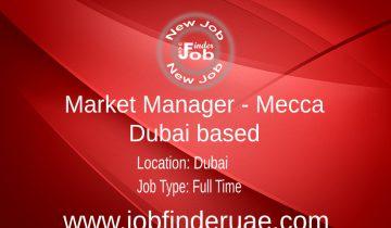 Market Manager - Mecca (Dubai based)