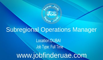 Subregional Operations Manager
