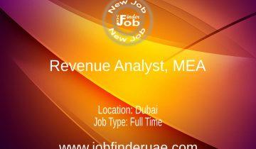 Revenue Analyst, MEA