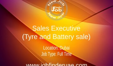 Sales Executive (Tyre and Battery sale)