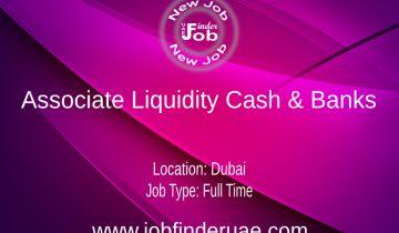 Associate Liquidity Cash & Banks